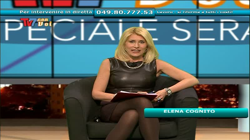 TV7 CON VOI SPECIALE SERA: LAVORO – SI RIFORMA A TUTTI I COSTI