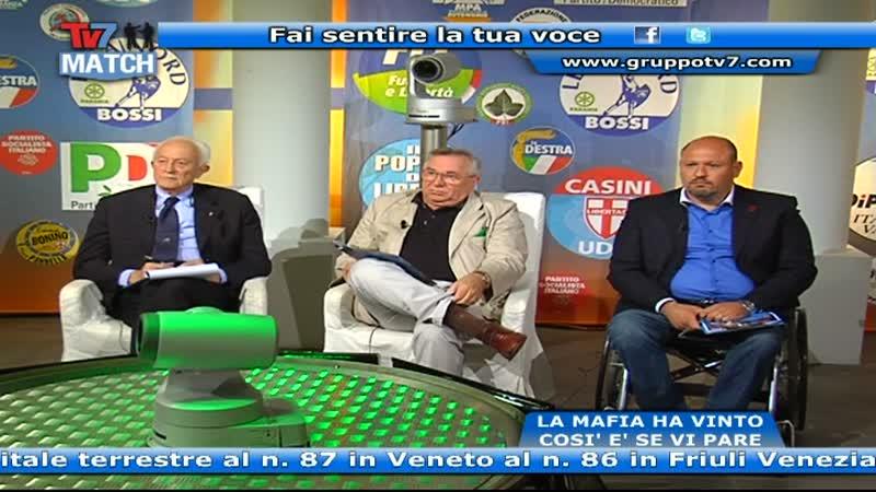 TV7 MATCH: A VENT' ANNI DALLA MORTE DI BORSELLINO E FALCONE