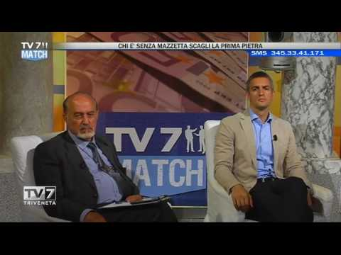 TV7 MATCH – CHI E' SENZA MAZZETTA SCAGLI LA PRIMA PIETRA