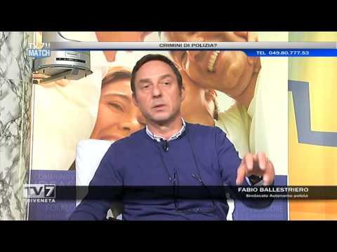 TV7 MATCH DEL 10/04/2015 – CRIMINI DI POLIZIA