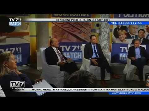 TV7 MATCH DEL 16/12/16 – GENTILONI:PESO EL TACON DEL SBREGO