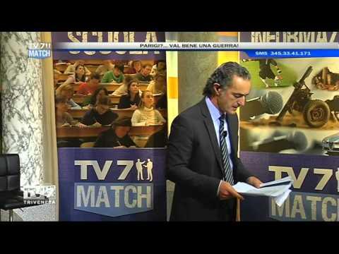 TV7 MATCH DEL 20/11/2015 – PARIGI?…VAL BENE UNA GUERRA!