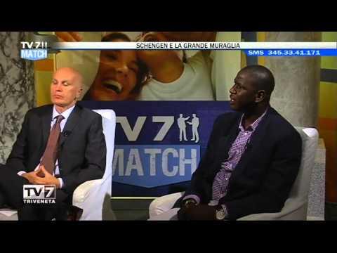 TV7 MATCH DEL 29/04/2016 – SCHENGEN E LA GRANDE MURAGLIA