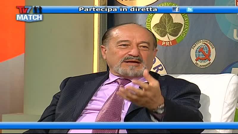 TV7 MATCH: ESODATI, ANTIPOLITICA E CRISI
