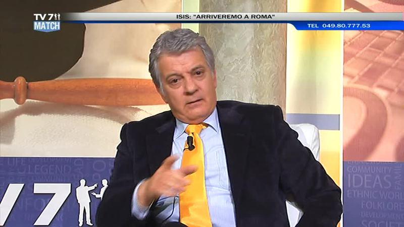 """TV7 MATCH:"""" ROMA SACCHEGGIATA: NESSUNO GRIDA ALLO SCANDALO."""""""