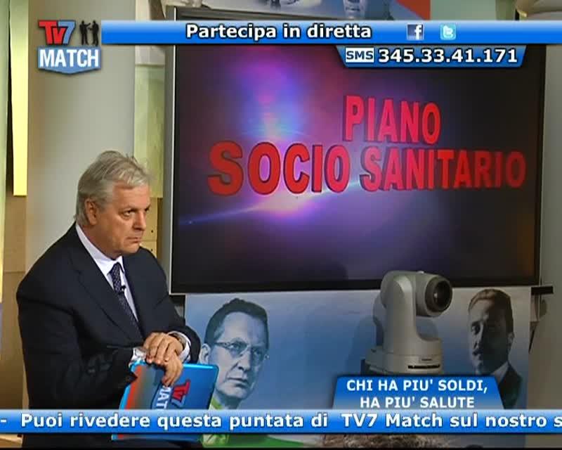 TV7 MATCH: SANITA' – PIU' SOLDI HAI, PIU' SALUTE HAI