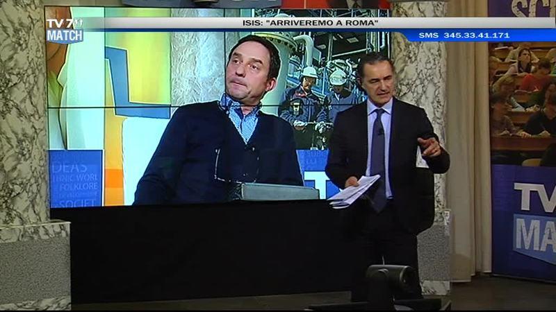 """TV7 MATCH: """" SIAMO PRONTI A FRONTEGGIARE LA MINACCIA ISIS ?"""""""