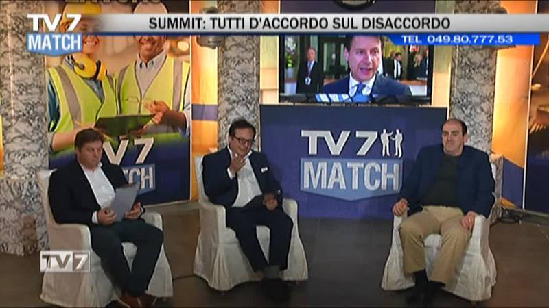TV7MATCH: DA BRUXELLES CONTE TORNATO A MANI VUOTE