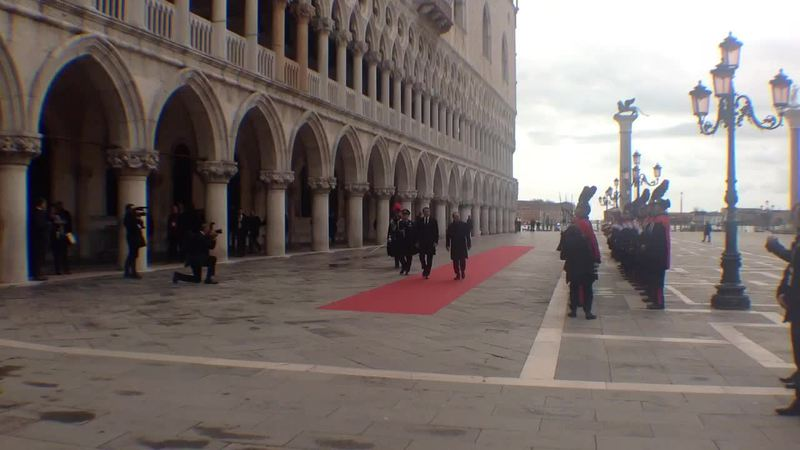 VENEZIA: VERTICE ITALIA-FRANCIA
