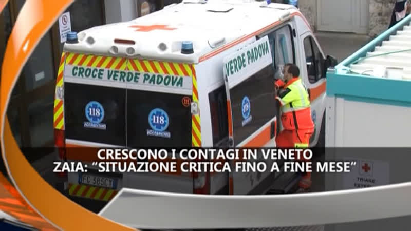 CRESCONO CONTAGI IN VENETO – IREPORTER TG 17/03/21