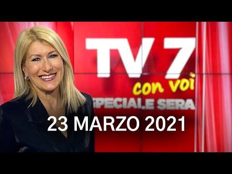 TV7 CON VOI SERA DEL 23/03/21
