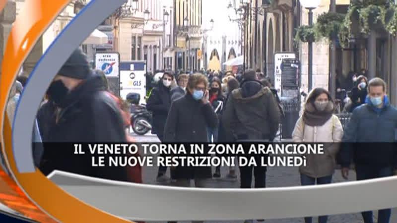 VENETO TORNA ARANCIONE – IREPORTER TG 05/03/21