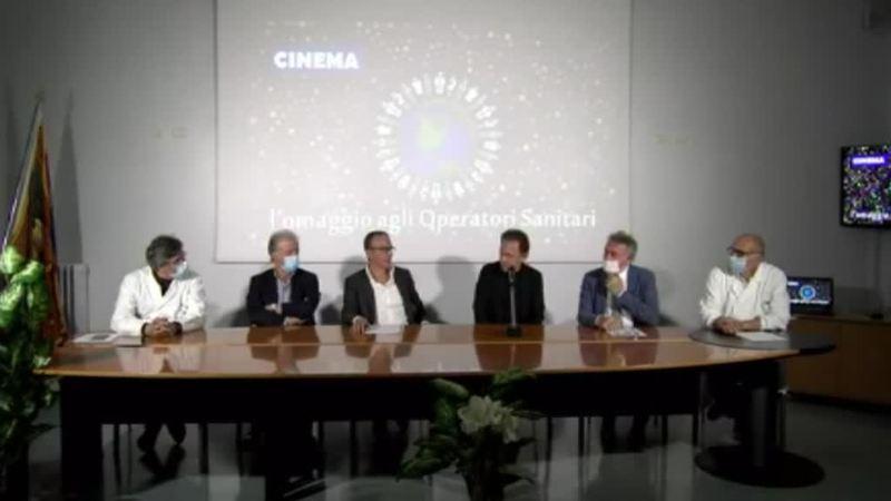 CINEMA: OMAGGIO AGLI OPERATORI SANITARI