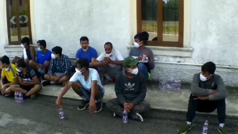 CLANDESTINI : RINTRACCIATE 120 PERSONE A UDINE