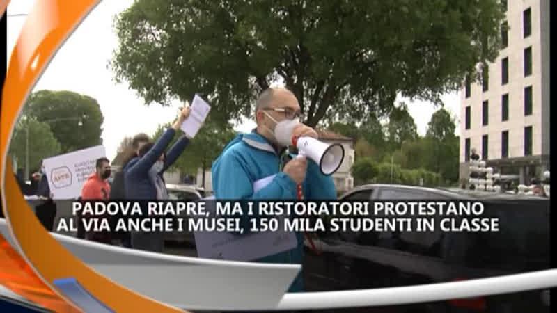 I RISTORATORI PROTESTANO