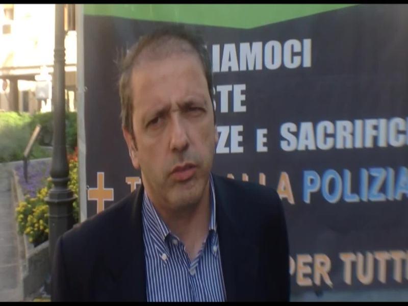 MIGRANTI, LA PROTESTA DEI POLIZIOTTI