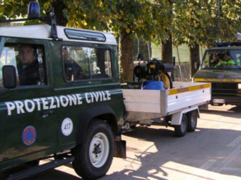 PROTEZIONE CIVILE, BUDGET REGIONE 210MILA EURO PER VOLONTARI