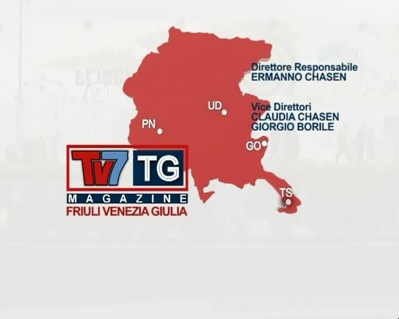TV7 TG MAGAZINE FRIULI VENEZIA GIULIA: 15/06/2013