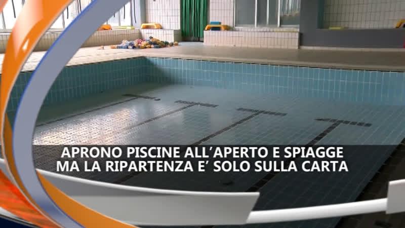 APRONO PISCINE ALL'APERTO E SPIAGGE IREPORTER 14/5