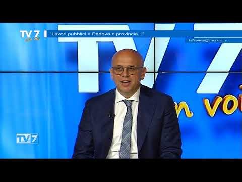 I LAVORI PUBBLICI A PADOVA – TV7 CON VOI DEL 5/5/21