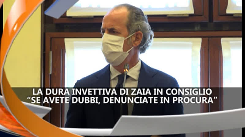 INVETTIVA DI ZAIA IN CONSIGLIO – IREPORTER 04/05/21