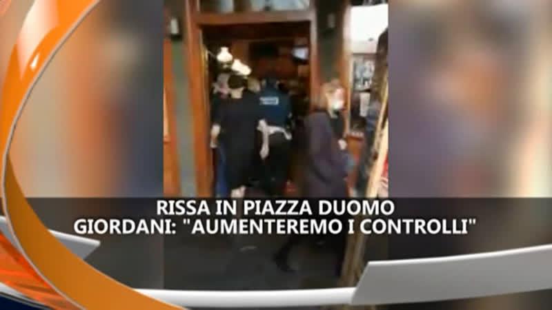 PADOVA: RISSA IN PIAZZA DUOMO  IREPORTER 10/05/21