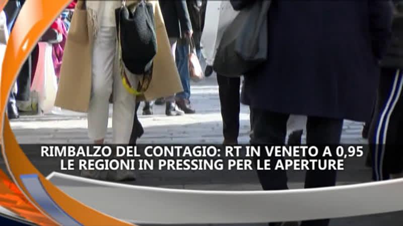 RISALE IL CONTAGIO: RT A 0,95 IREPORTER 06/05/21