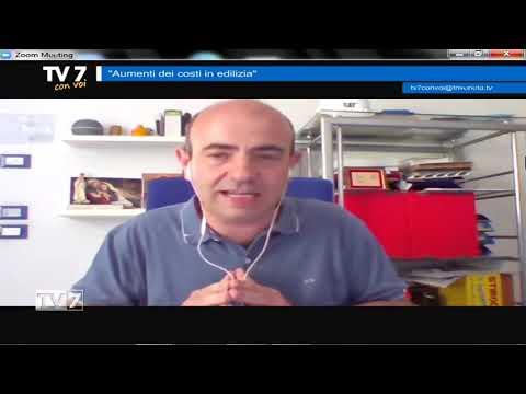 AUMENTI COSTI IN EDILIZIA – TV7 CON VOI 30/06/21