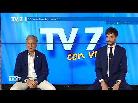 BONUS FISCALE E ALTRO – TV7 CON VOI 24/06/21
