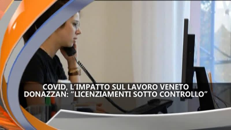 COVID, L'IMPATTO SUL LAVORO – IREPORTER 20/07/21