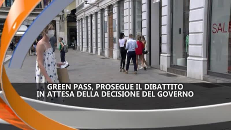 GREEN PASS, ATTESA DEL GOVERNO – IREPORTER 19/07/21