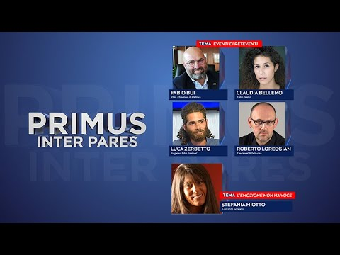 PRIMUS INTER PARES 28/07/2021 – EVENTI DI RETEVENTI